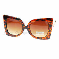 Womens Designer Sunglasses Oversized Square Butterfly Fashion
