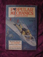 POPULAR MECHANICS Magazine October 1952 Diving Board 52 Lincoln