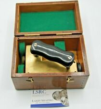 Antique 19Th Century Distance Meter And Wood Case - Brass - See Appraisal Report
