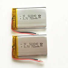 2 pcs 750mAh 3.7V Lipo Polymer Battery For MID DVD GPS PDA mobile phone 503048