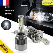72W 20000LM H4 Hi-Lo CREE LED Ampoule Voiture Feux Lampe Kit Phare Light 6000K