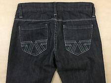 AMERICAN EAGLE Womens NEW Slim Leg Black Denim Jeans Tag Size 0 Actual 27x33