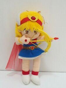 "Akazukin Chacha Bow Attack Magical Princess Takara Plush 8.5"" Toy Doll Japan"