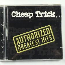 Cheap Trick ‎– Authorized Greatest Hits Orig Press Used CD VG+ EK 66015