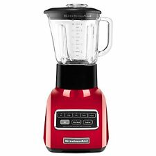 Kitchenaid REFB R-KSB650CA 5-Speed 650 Series Blender .9HP Motor Candy Apple Red