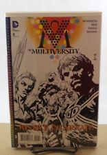 MULTIVERSITY #2 1:10 IVAN REIS BLACK & WHITE VARIANT COVER DC COMICS 2014