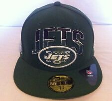 Brand NEW New York Jets New Era 59fifty Fitted Cap sz 7-3/4