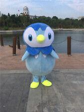 Halloween Pokemon Go Piplup Penguin Mascot Costume cosplay Fancy Dress Adult NEW