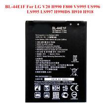 New Battery BL-44E1F For LG V20 Stylo 3 H910 H918 VS995 LS997 F800 US996 3200mAh