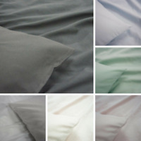 NEW Brushed Thermal Flannelette Sheet Sets 6 Colours All Sizes | Super Soft