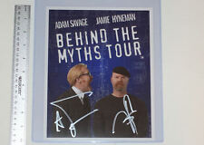 MythBusters Autographed Picture Adam Savage Jamie Hyneman 8x10 Autographs Promo