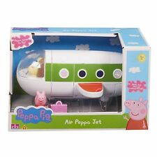 Peppa Pig Air Jet Aeroplane Plane with Peppa Figure & Suitcase Holiday Toy NEW