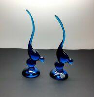 Vintage Viking Glass Epic Bird-Set of 2