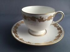 Tea Cup & Saucer White Wedgwood Porcelain & China Tableware