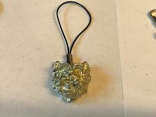 pewter Mobile Phone charm Westie's Head Tg26 Fine English