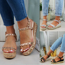 d79f4bdefbe Wedge Espadrilles Med (1 3/4 to 2 3/4 in) Heel Height Heels for ...