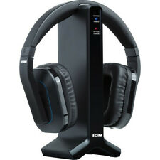 ION Wireless Headphone with Transmitter Base for TV & Home Stereos