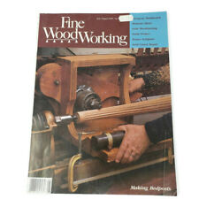 Fine WoodWorking Magazine 1985 (1) Issue 53 Building Carving Hobbies Gifts