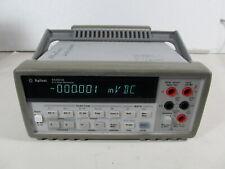 Agilent 34401a Digital Multimeter 6 12 Digit Dmm Self Test Passed