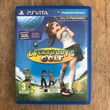 Everybody's Golf-PS Vita-utilisé