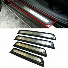 [Kia] Door Step Sill Scuff Plate Trim 4P For OEM Parts 2015-2016 Sorento