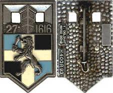 27° Régiment d'Infanterie, 1616, 42 mm, retirage 1993, Delsart 400 R 93(6508)