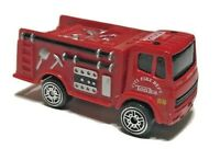 "Tonka Red Fire Truck #88 City Fire Dept. 2005 Hasbro 2.5"""