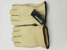 Premium 3M Thinsulate Winter Leather Work Gloves Drivers 100 Gram Large