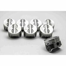 Speed Pro Chevy 305/5.0 Hypereutectic Flat Top Pistons/8+MOLY Rings Kit +.060""
