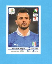 PANINI-EURO 2012-Figurina n.330- PEPE - ITALIA -NEW