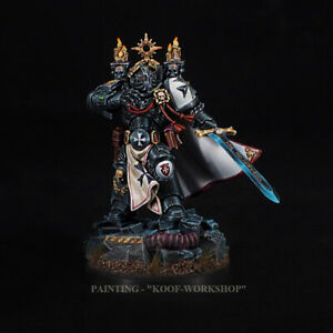 Warhammer 40k Painted Black Templar emperor's champion NMM style painting
