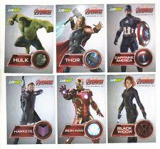 Scarlett Johansson , Avengers , l ' Ere d ' Ultron,  SubWay Promo 6 cards set
