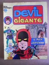 DEVIL  Gigante Serie Cronologica n°3 Edizione Corno  [G502] - OTTIMO