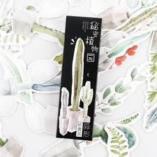30 Pcs/pack Secret Botanical Garden Paper Bookmark  Book Holder Message Card