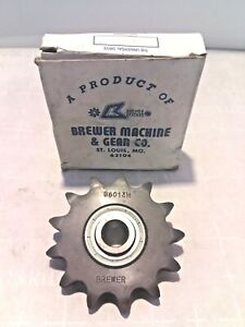 Brewer B6013H Ball Bearing Idler Single Row 5/8 In Sprocket New Old Stock
