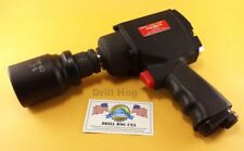 "Drill Hog 3/4"" Air Impact Wrench Gun Twin Hammer 1500 Ft LBS Lifetime Warranty"