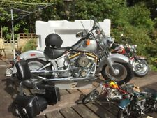 DeAgostini 1:4 Fat Boy Harley Davidson FLSTF Model