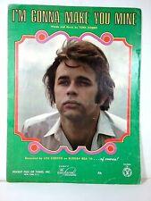 Vintage Sheet Music ~ 'I'm Gonna make You Mine' Lou Christie 1969