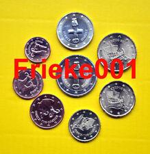 Cyprus - Chypre - 1 cent tot 2 euro 2011 unc.