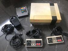Nintendo Entertainment System NES KONSOLE Komplettset 2Original Controller Spiel