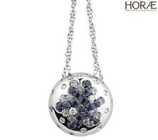 Collana Damiani Paradise pendente diamanti necklace pendant diamonds sapphires