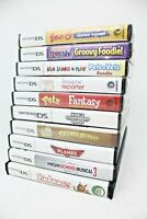 Wholesale Lot of 10 Nintendo DS Games - Sim Animals, Planes, iCarly + More