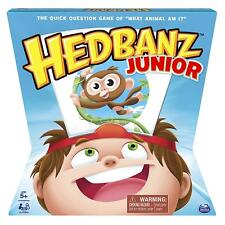 SPIN MASTER - Hedbanz Jr. Family Board Game With Animal Theme For Kids Age 5+