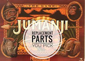 Jumanji Board Game Individual Replacement Pieces Cardinal You Pick 1995 - 2017