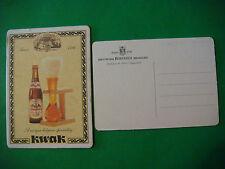 Beer Coaster Bierviltje Mats ~*~ Brouwerij BOSTEELS Pauwel KWAK Ale ~*~ BELGIUM