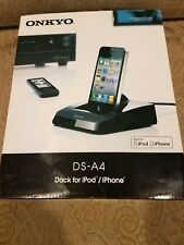 ONKYO DS-A4 REMOTE INTERACTIVE DOCK FOR IPOD AND IPHONE