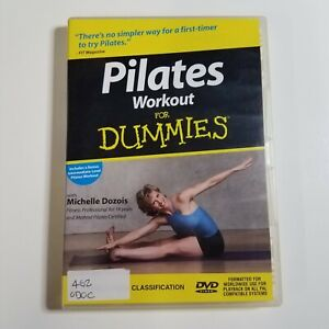 Pilates Workout For Dummies   DVD Movie   With Michelle Dozois   2002   Region-4