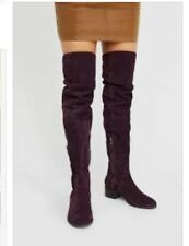 Free People Everly Suede Over The Knee/ Thigh High Boots