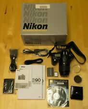 Nikon D90 12.3MP Digital SLR Camera - Black (Kit w/ 18-55mm Lens) & filters