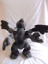 """Pokémon Best Wishes Zekrom 16"""" UFO Plush Doll Japan Tag"""